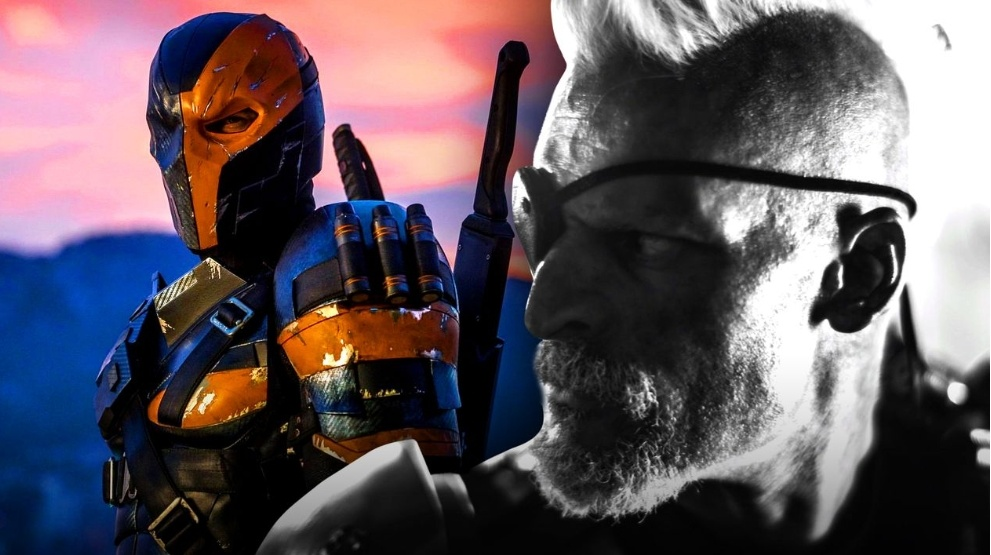 JUSTICE LEAGUE: Joe Manganiello & Ben Affleck Share New Looks At Deathstroke & Batman